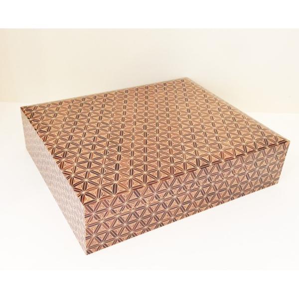 箱根寄木細工 A4サイズ 文庫箱 書類入れ|maaoyama