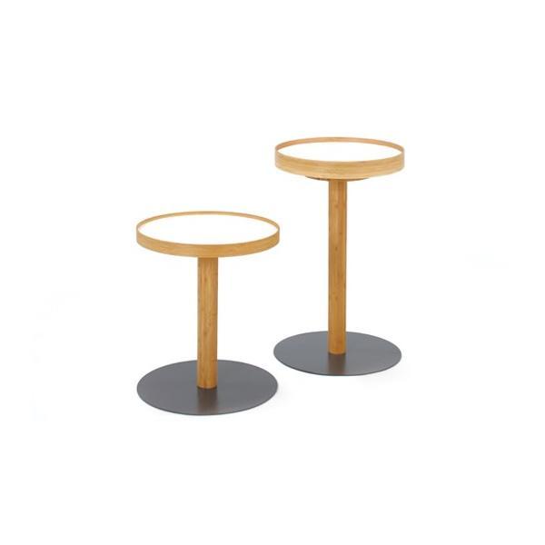 竹集成材のサイドテーブル ONE SIDE TABLE ハイサイズ TEORI|maaoyama