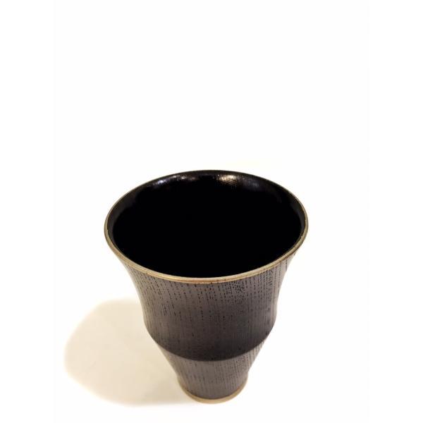 拭き漆 馬上杯 凛|maaoyama|03