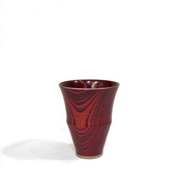 拭き漆 馬上杯 凛|maaoyama|04