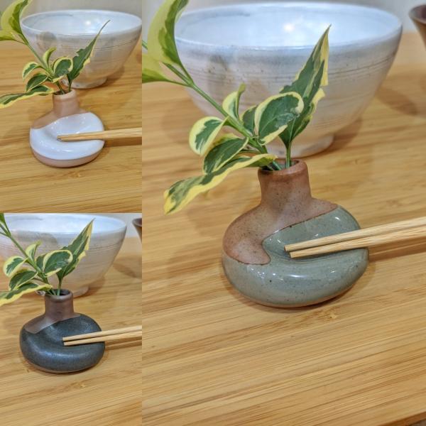 一輪挿し箸置き|maaoyama