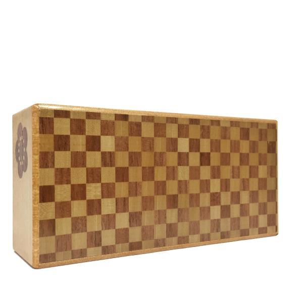 箱根寄木細工 秘密箱 7寸7回仕掛け薄型 200万型由比|maaoyama|04