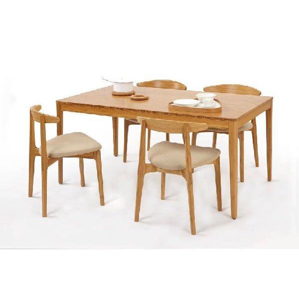竹集成材のダイニングテーブル Fダイニングテーブル W1800xD850xH700mm TEORI|maaoyama|02
