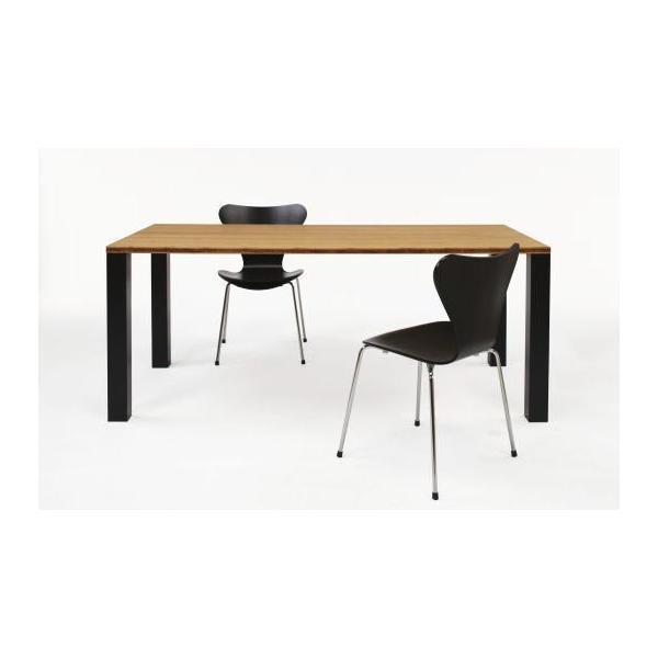 竹集成材のダイニングテーブル SOLID Dining Table W1500xD850xH720mm TEORI|maaoyama|02