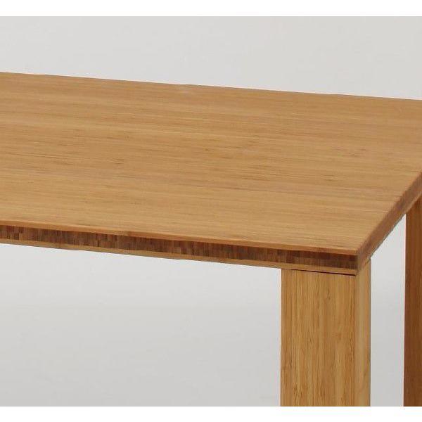 竹集成材のダイニングテーブル SOLID Dining Table W1500xD850xH720mm TEORI|maaoyama|03