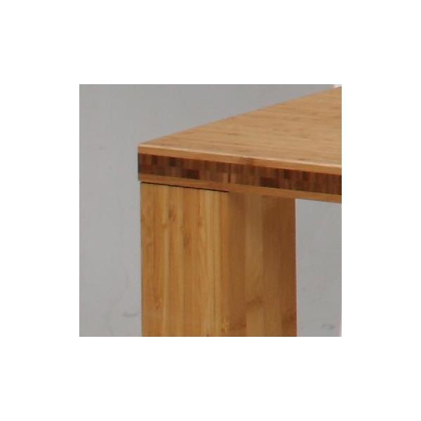 竹集成材のダイニングテーブル SOLID Dining Table W1500xD850xH720mm TEORI|maaoyama|04