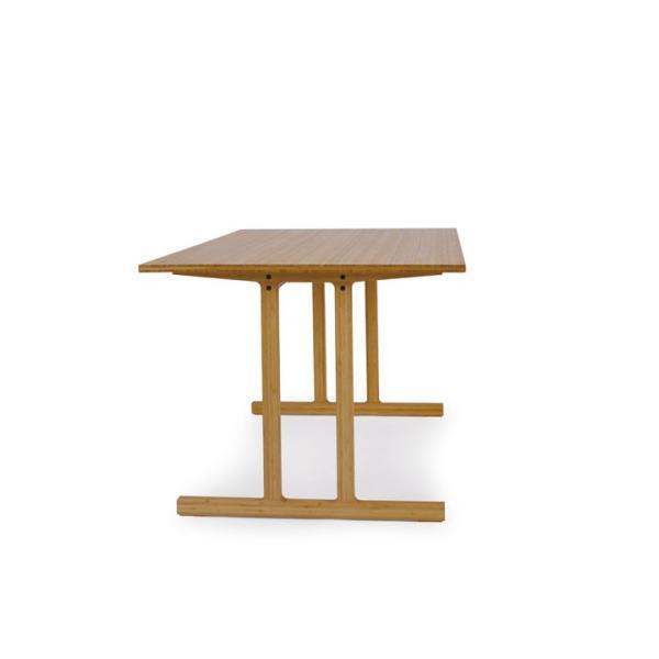 竹集成材のダイニングテーブル Wing Table W1800xD850xH720mm TEORI|maaoyama|02