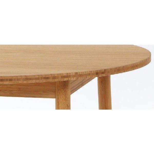竹集成材のダイニングテーブル Round Table φ900xH700mm TEORI|maaoyama|03