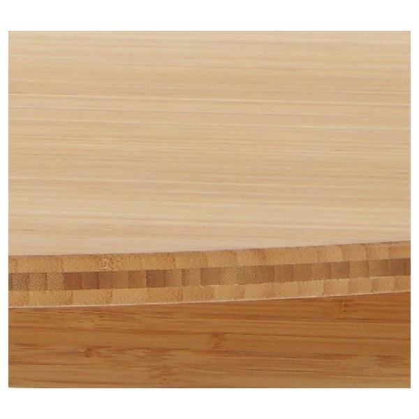 竹集成材のダイニングテーブル Round Table φ900xH700mm TEORI|maaoyama|04