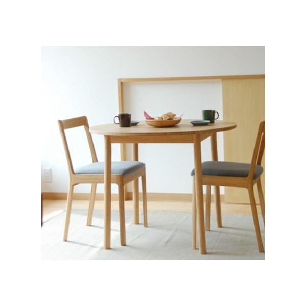竹集成材のダイニングテーブル Round Table φ900xH700mm TEORI|maaoyama|06