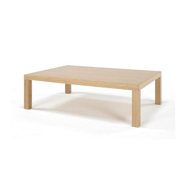 竹集成材のリビングテーブル Kリビングテーブル 角脚 W900×D850×H350mm TEORI|maaoyama|02