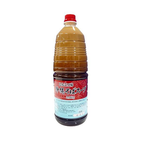 沖縄そばスープ とんこつ味 2.09kg(業務用) 沖縄そばだし濃縮タイプ