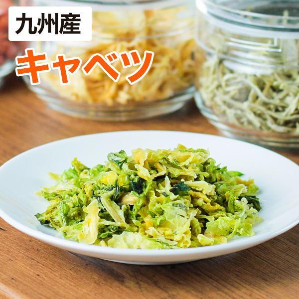 乾燥野菜 キャベツ 1袋28g 生野菜310g相当 九州産野菜 長期保存が可能 非常食 保存食 備蓄食