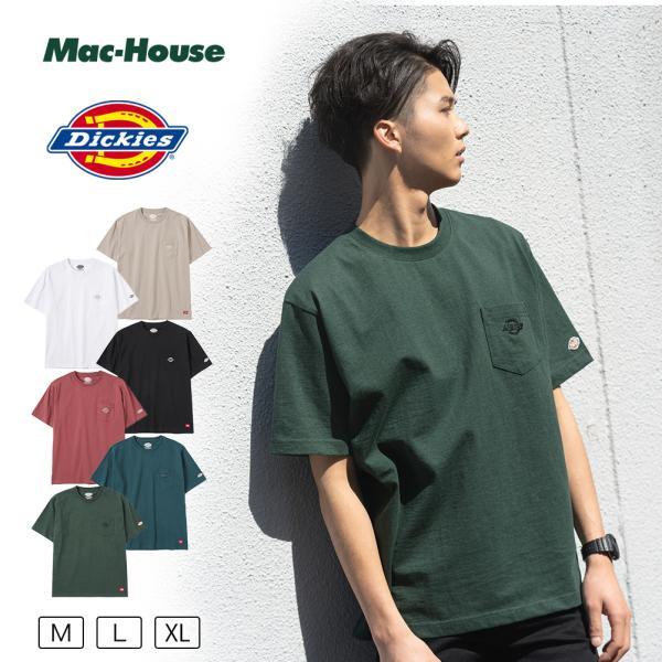 Dickiesディッキーズ半袖TシャツメンズTシャツ半袖トップスネコポス対応