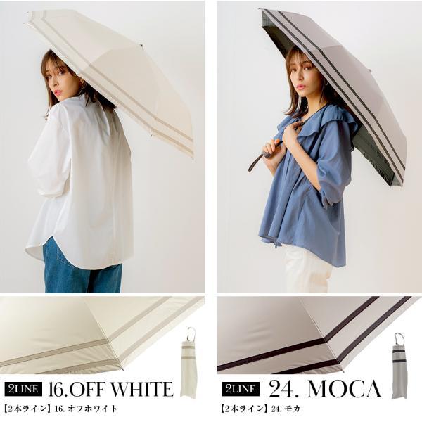 日傘 ブラックコーティング折りたたみ耐風傘 遮光率・UV遮蔽率100% 1級遮光 日傘 晴雨兼用 折りたたみ傘 makez.|macocca|06