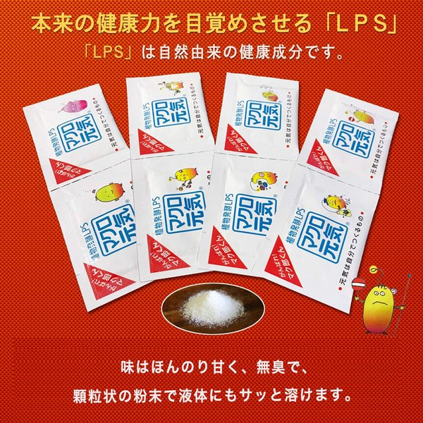 免疫ビタミンマクロ元気60包入り高濃度特許成分配合LPSサプリメントでマクロファージを元気に食べる飲む美容サプリ/元気サプリ/小分け携帯/子供可能/紫外線対策|macrogenki|04