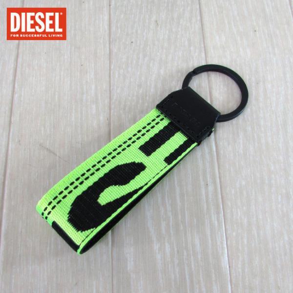 ディーゼル DIESEL メンズ キーリング アクセサリー X06237 P1831/T3095/ライトグリーン