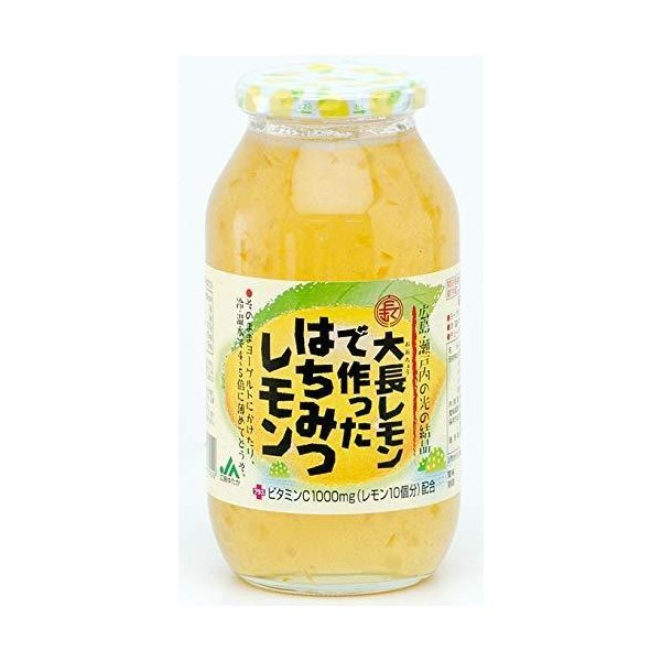 大長レモンでつくった【はちみつレモン】【980g】|maeharu-store