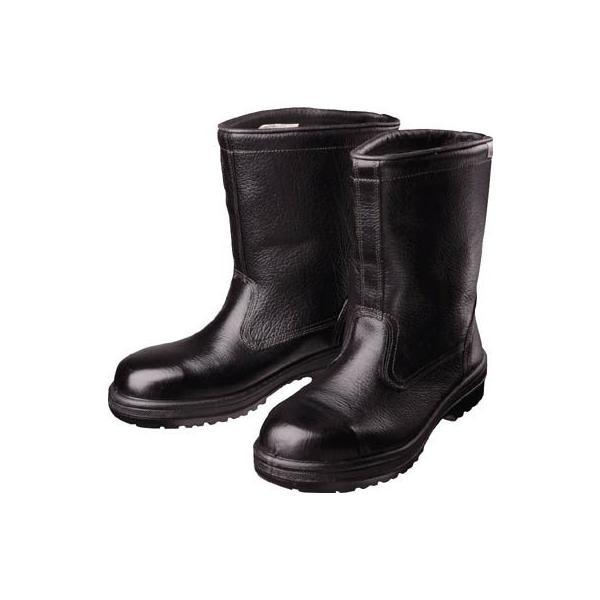 ミドリ安全 ラバーテック半長靴24.5cm RT940-24.5