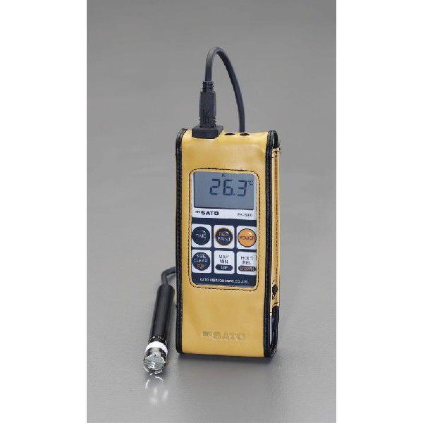 エスコ -30゜/+400℃防水型デジタル温度計 EA701SA-20