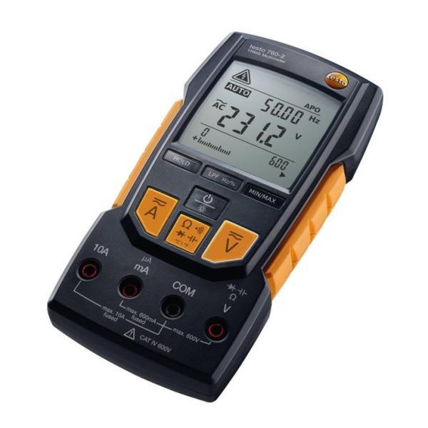 テストー 真の実効値型デジタルマルチメーター testo760-2