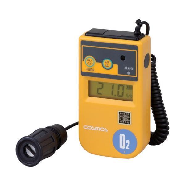 新コスモス デジタル酸素濃度計・1mカールコード付 XO-326-2SB
