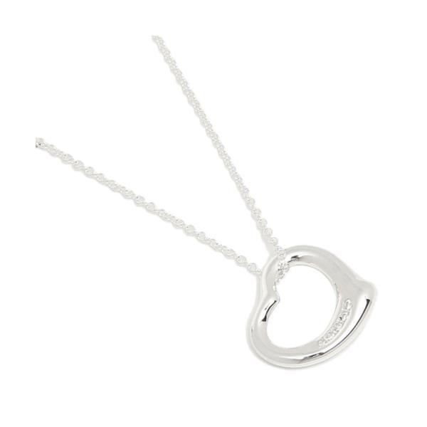 【ティファニー】ティファニー ネックレス アクセサリー TIFFANY&Co. 26848598 オープンハート スモール 5Pダイヤモンド 16IN