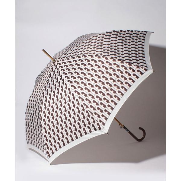 【フルラ】FURLA(フルラ) 耐風傘 アーチロゴ【フルラ スリーク】