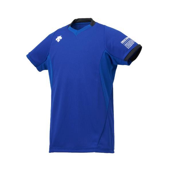 【デサント】【バレーボール】半袖ライトゲームシャツ