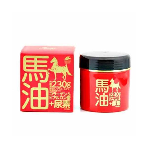 日本製で臭いもなくて保湿する馬油クリーム+尿素 スキンクリーム フェイスクリーム ハンドクリーム 弱酸性 無添加 天然成分 乾燥肌 エイジングケア うるおい