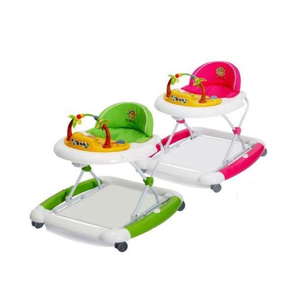 送料無料 JTC(ジェーティーシー) ベビー用品 歩行器 ベビーウォーカー ZOO   ロッキング 椅子 おもちゃ 代引き不可/同梱不可