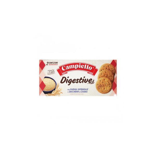 送料無料 ボーアンドボン カンピエロ ダイジェスティブ・クッキー(全粒粉入り) 380g×14個    代引き不可/同梱不可