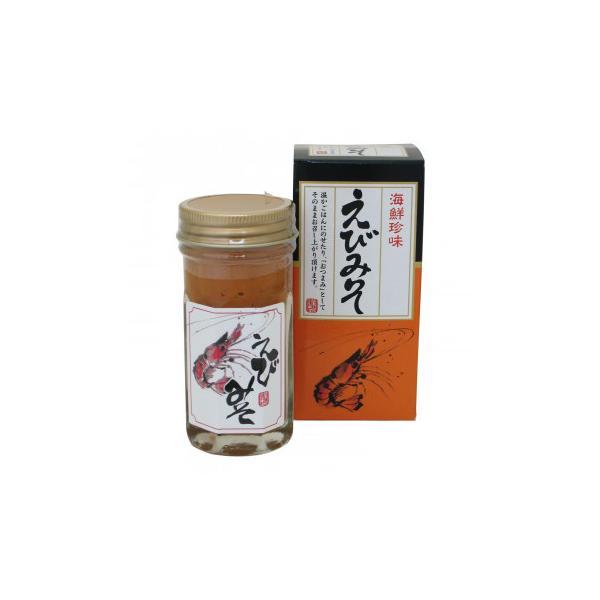 送料無料 マルヨ食品 えびみそ(瓶・箱入) 80g×40個 04094    代引き不可/同梱不可