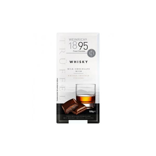送料無料 ワインリッヒ ウイスキー チョコレート 100g 120セット    代引き不可/同梱不可