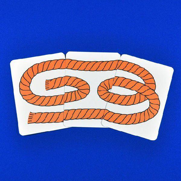 C6161 3本ロープ マジック・手品