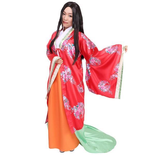 お姫様 和風コスチューム |かぐや姫 昔ばなし 時代劇 仮装 コスプレ 衣装|magicnight|05
