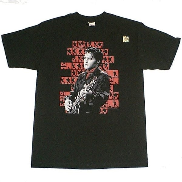 エルビス・プレスリー1968映画スター&ミュージシャンTシャツ