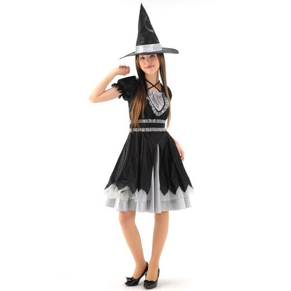 ウィッチレディ ノワール ハロウィン 魔女 仮装 衣装 コスチューム 大人用 magicnight