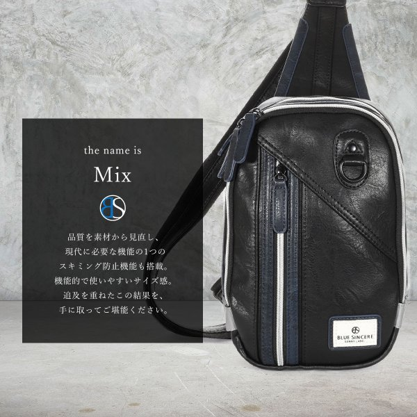 ボディバッグ メンズ ショルダーバッグ 斜めがけ バック 小さめ 大容量 革 ブランド RFIDスキミング防止 ポイント消化 magokoroya-yahuu 04