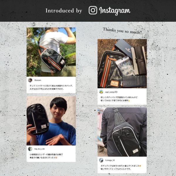 ボディバッグ メンズ ショルダーバッグ 斜めがけ バック 小さめ 大容量 革 ブランド RFIDスキミング防止 ポイント消化 magokoroya-yahuu 05