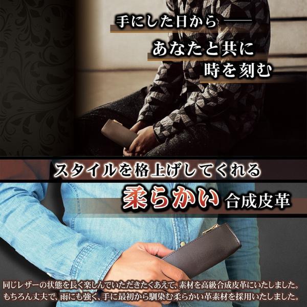 ホワイトデーのお返し ペンケース おしゃれ シンプル ブランド 革 大容量 筆箱 ポイント消化 magokoroya-yahuu 05