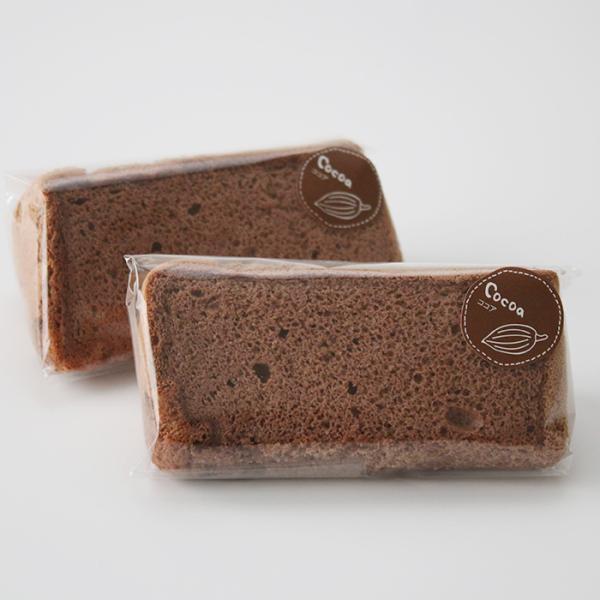 米粉のシフォンケーキ ココア 6カットセット グルテンフリー 養生卵使用|magosaku-food|02