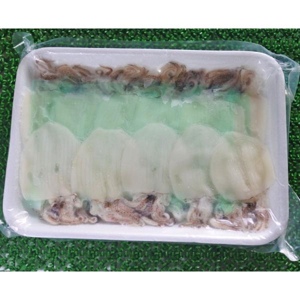 ヤリイカ 姿造りゲソ付き 1パック(20杯入り)300g × 5パック お刺身用|maguro-miyako|02