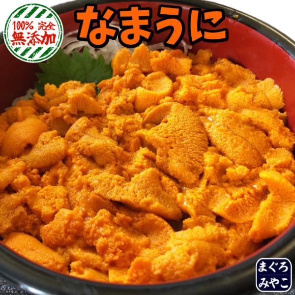 生ウニ 200g (100g × 2パック)  ウニ丼約10杯分