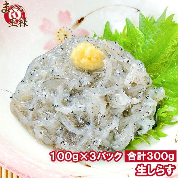 生しらす 生シラス(300g 100g×3パック 3〜6人前)