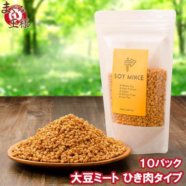 大豆ミート ソイミート ミンチ ひき肉タイプ 160g ×10パック