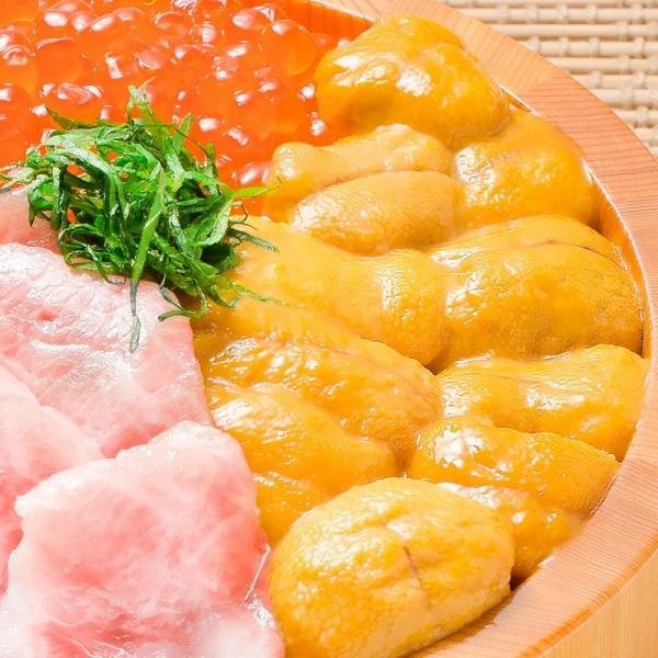 生ウニ 生うに 冷凍 無添加 天然 300g 100g×3パック(ウニ うに 雲丹)|maguro-ousama|05