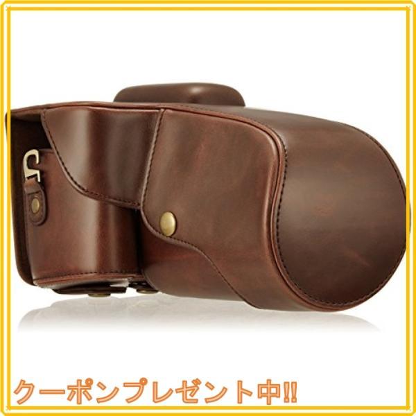 和湘堂 Nikon D5100 D5200 D5300  一眼レフデジタルカメラ用 合成革ケース 2色「510-0046-0」 (ブラウン)