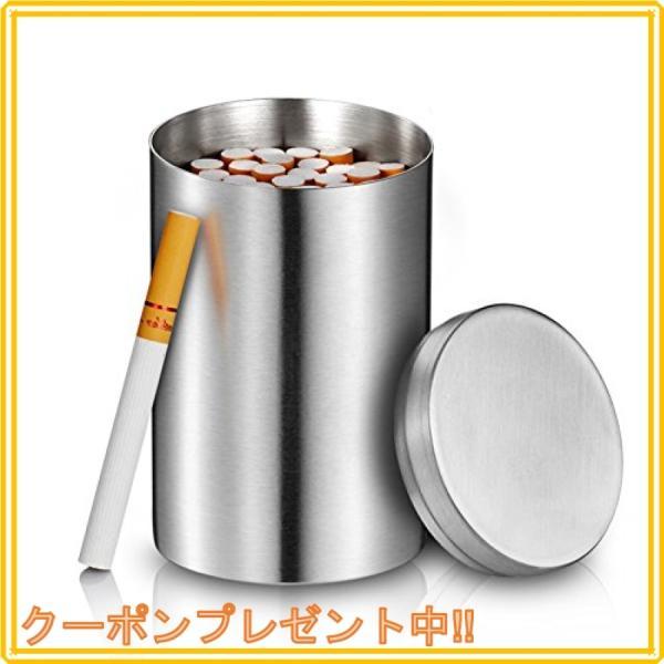 NiceOnes タバコケース大容量50本ステンレス製タバコ収納タバコの元味守る缶煙草車家