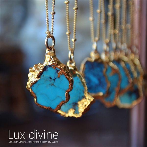 ターコイズのプレミアムジュエリー☆LAからボヘミアン&エスニカルな「Lux Divine」多数到着~